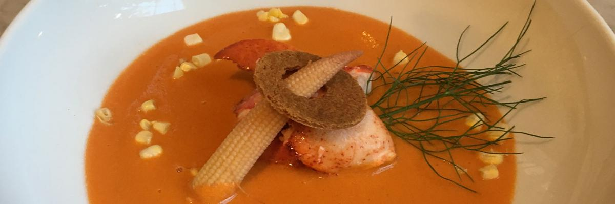 Culinary Excellence Menus - Lobster Chowder