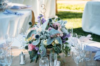 Rustic Large Centerpiece - Photo Courtesy of ANZA foto+film