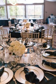 Navy Silver Theme - Photo Courtesy of Simone Anne Photography